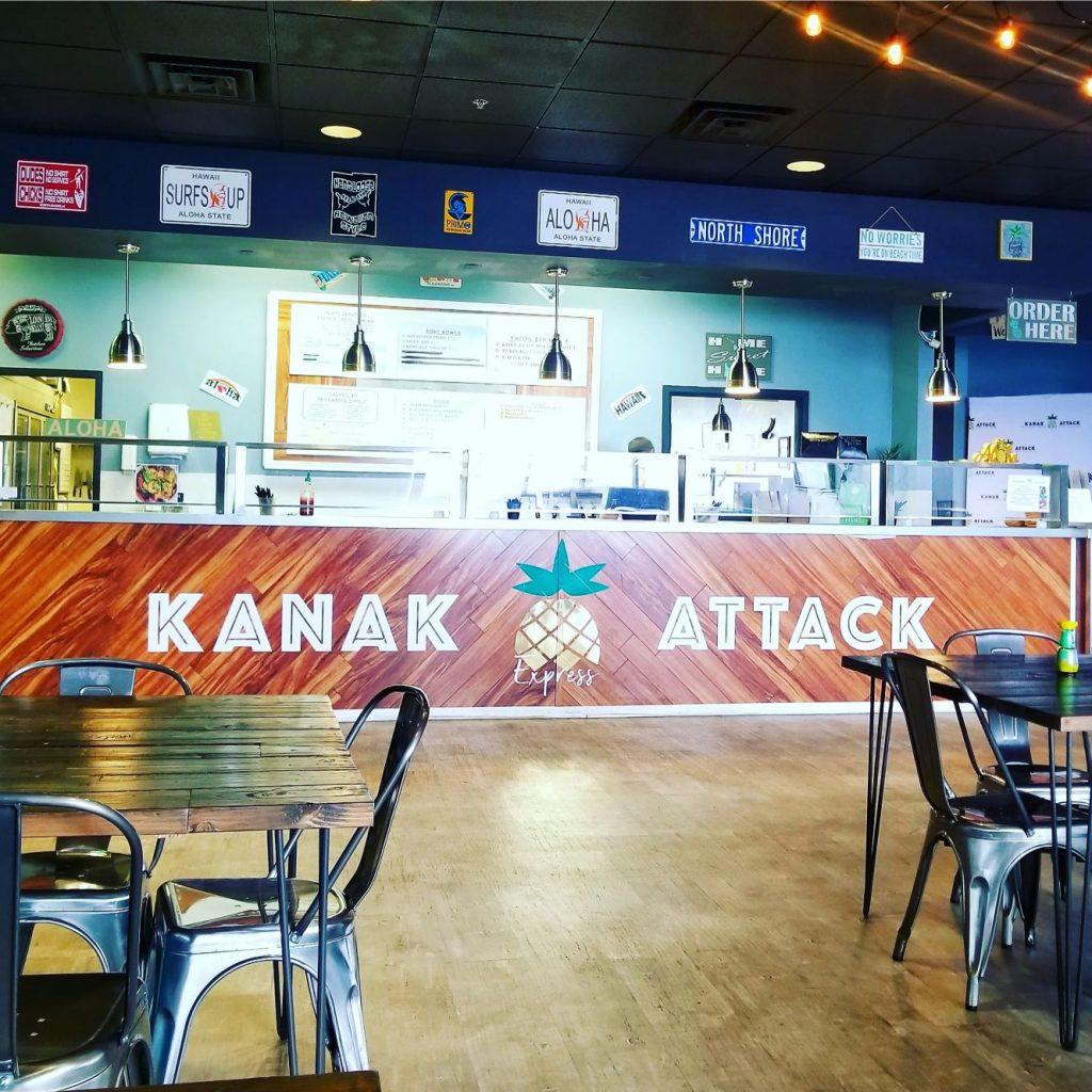 inside kanak attack restaurant
